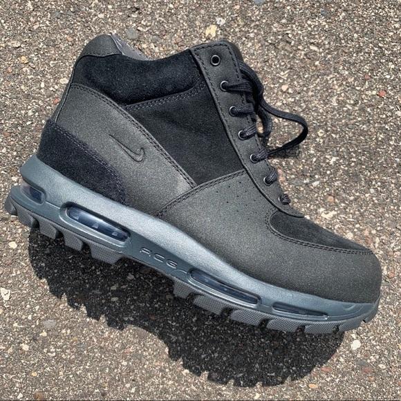NEW Nike Air Max Goadome ACG Boots Triple Black NWT